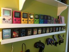 Great idea for my handhelds. Maybe near my DS games?