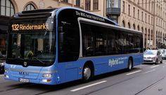 150 Jahre Nahverkehr in München, 150 Jahre Bus  - MAN Lions City Hybrid - 132…