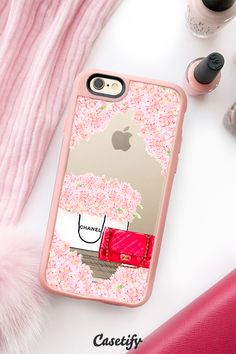Calling CHANEL fans. Click through to see more designs by Sara Eshak >>> https://www.casetify.com/SaraEshak/collection | @casetify