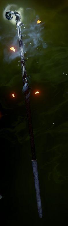Heart of Despair is a unique cold staff from the Trespasser DLC for Dragon Age: Inquisition. Trespasser Possible random trials reward.