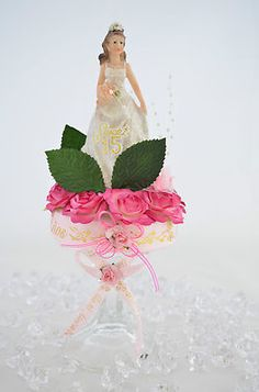 Special Centerpiece, Sweet 15, Quinceanera, Sweet 16, Favor CM_010 * $27.99 FREE SHIPPING (USA ONLY)  http://stores.shop.ebay.com/Favors-Centerpieces-E-C-The-Twins