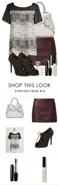 """""""Lydia Martin inspired outfit"""" by xzozebo ❤ liked on Polyvore featuring The Limited, Naf Naf, Schutz, Forever 21, Bobbi Brown Cosmetics and Eddie Borgo"""