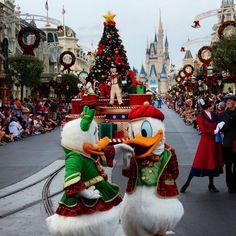 Mickey's Once Upon a Christmastime Parade Disney World Christmas, Magic Kingdom, Disneyland, Bucket, Merry, Earth, Holidays, Holiday Decor, Holidays Events