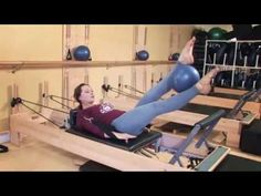 Abdominal Muscle Workout on the Reformer Club Pilates - YouTube