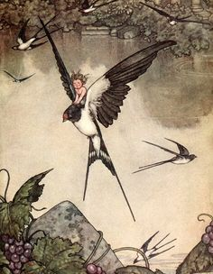 Illustrarion from Hans Christian Anderson's Fairy Tales
