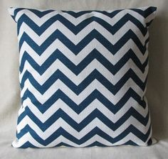 Pair of 2 Designer Pillow Covers 18 x 18  Chevron by 3BModLiving, $56.00