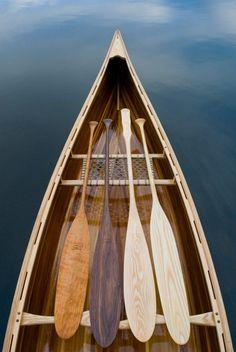 She wolf: Photo Row Row Your Boat, The Row, Kayaks, Wooden Canoe, Canoe And Kayak, Canoe Paddles, Canoe Camping, She Wolf, Wood Boats