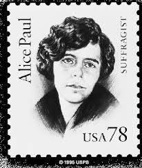 Alice Paul Stamp.