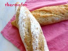 THERMOFAN: Pan para bocadillo integral de Xavier Barriga (TMX / T)
