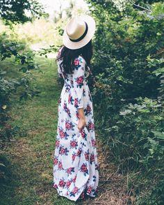 ROOLEE Floral Dress