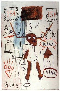 Slide germ by Basquiat