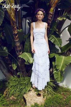 Adlib Couture: la colección perfecta para la boda ibicenca que siempre has soñado.  Ref. 00314 VESTIDO CAPAS  www.charoruiz.com