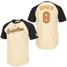 5fe71b99f57 Baltimore Orioles Cal Ripken Jr. Cooperstown All-Star Player Raglan T-Shirt  -