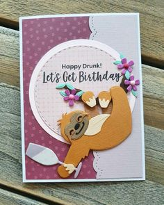 Card Tags, Gift Tags, Marianne Design Cards, Tag Design, Happy Birthday Cards, Creative Cards, Crazy Cats, Farm Animals, Dog Cat