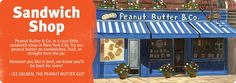 Peanut Butter & Co. In Greenwich Village