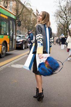 Milan Fashion Week - Street Style 2014 Photos - AW14 (Vogue.com UK)
