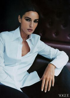 Monica Bellucci - She turned from law to fashion and film. Bellucci is a longtime face of Dolce & Gabbana.
