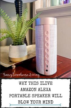 dfb7c9385ea Why This iLive Amazon Alexa Portable Speaker Will Blow Your Mind