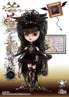 Pullip Dolls Barbara Yomi Anime Fashion Doll P-040 Gothic Lolita