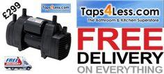 www.taps4less.ie techflo shower pump 2