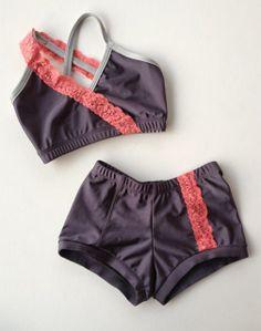 Sadie Jane Dancewear - Coral, Dark Silver, and Light Silver Twist and Shout , $59.00 (http://www.sadiejane.com/coral-dark-silver-and-light-silver-twist-and-shout/)