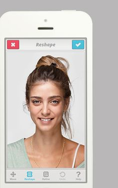 Portrait editing app