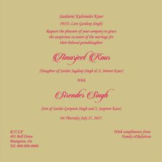 Image search wedding invitation letter format kerala kausal wedding invitation wording for sikh wedding ceremony stopboris Choice Image