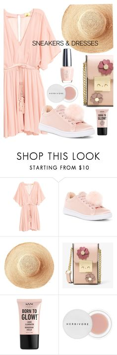 """""""The right balance"""" by interesting-times ❤ liked on Polyvore featuring Madden Girl, Toast, MICHAEL Michael Kors, NYX, Herbivore and SNEAKERSANDDRESSES"""