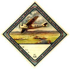Australian Aerial Service LTD ~ 1930