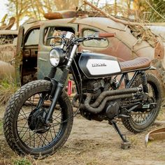On BikeBound.com: \'94 Honda CB250 Nighthawk #scrambler  by Mati Aguirre of Argentina! Link in Profile