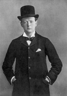 Winston Churchill as a Conservative candidate for Oldham in 1899, the first to be fought by the future Prime Minister.