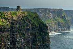 Cliffs of Moher tourist lookout. Except you can't get married outdoors in Ireland!!! :(