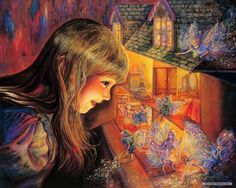 Dream and Fantasy Painting | Free Art wallpaper - Josephine Wall Fantasy Art Illustration wallpaper ...