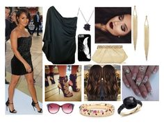 """""""Slayin' with Jada Pinkett Smith at the Premiers"""" by marinesister-181 ❤ liked on Polyvore featuring Chanel, Marc by Marc Jacobs, Ted Baker, Natasha Accessories and Pomellato"""
