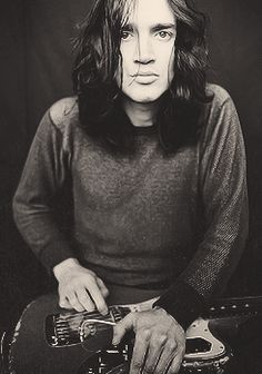 John Frusciante- the best thing about the Chili Peppers... And I'm in love with Anthony Kiedis.