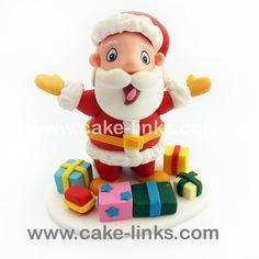 Claydough Santa with Presents -