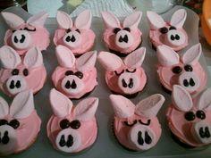 Piggy cakes