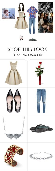 """""""[TEASER] Memory Lane Prologue Film - Chaehee"""" by princessmax ❤ liked on Polyvore featuring Golden Child, Neuw denim, BERRICLE, Chaco, Belk Silverworks and Bling Jewelry"""