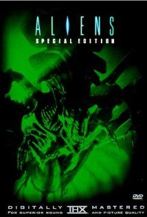Aliens Poster  They wonder why I like horror films and I tell them they allowed me to much late night tv.