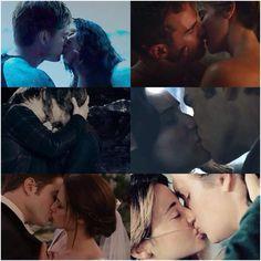 What kiss is the best or your favorite? Peeta&Katniss & FourTris & EdwardBella & Katniss & Gale!