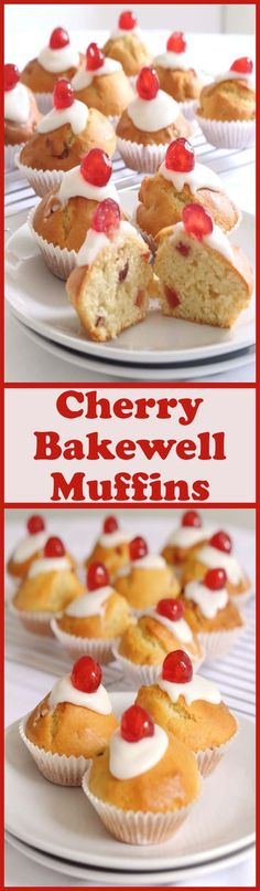 These cherry bakewel