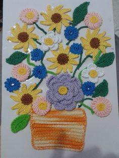 cuadro crochet ganchillo