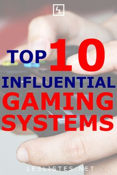 There have been many different video gaming systems to come and go. Check out the top 10 most influential gaming systems. Video Games List, Video Game Music, Best Spotify Playlists, Pc Gaming Setup, Lets Play, Best Songs, Games To Play, Good Music, Videogames
