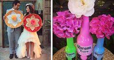 No importa si eres mexicana o tienes otra nacionalidad, la cultura mexicana es realmente bella, rica y colorida. Si quieres tener una boda diferente ésta es tu mejor opción, es algo sencillo y te dejará recuerdos por siempre. 1- Puedes dar recuerdos a tus asistentes en bellas bolsas típicas. 2. Un pastel decorado así. 3. …