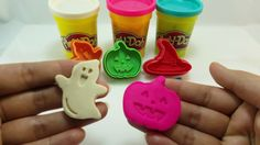 DIY learn colors Gummy jelly poop with creative play doh mold Holloween