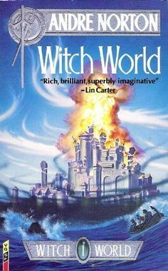 Witch World by Norton, Andre Paperback Book The Cheap Fast Free Post Sci Fi Books, My Books, Andre Norton, Fantasy Literature, Fantasy Book Covers, Richest In The World, Best Novels, Sci Fi Fantasy, Learn To Read