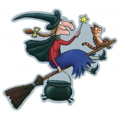 Room on the Broom Cut-out Characters