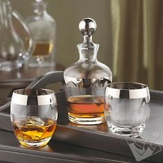 Madison Avenue Whiskey Decanter Set at Wine Enthusiast - $49.95