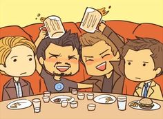 Poor Steve and Cas