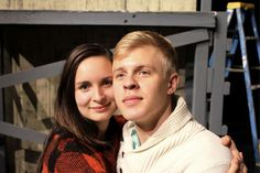 """A romantic comedy for the ages at Icicle Creek in Leavenworth, Washington.   Alix Isom (left) and Cooper Hallstrom in """"The Fantasticks."""""""